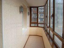 Отделка балкона в Владикавказе. Отделка лоджии